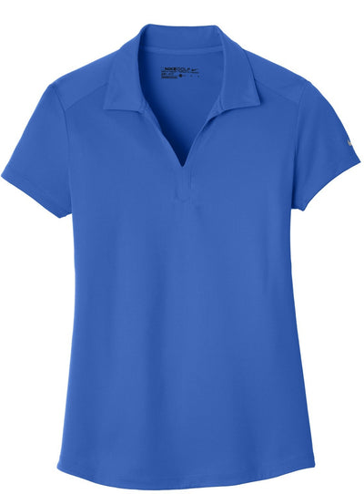 NIKE Golf Ladies Dri-Fit Legacy Polo-S-Game Royal-Thread Logic