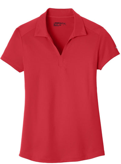 NIKE Golf Ladies Dri-Fit Legacy Polo-S-Gym Red-Thread Logic
