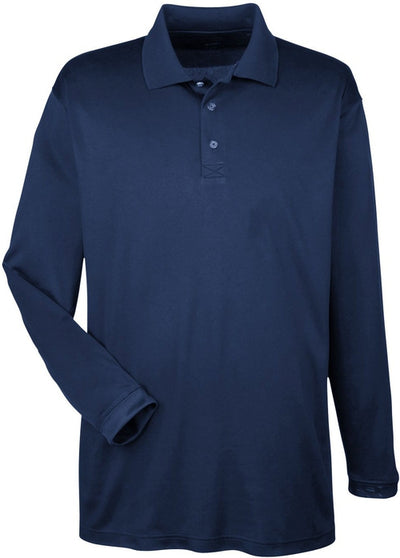 UltraClub Cool & Dry Sport Long-Sleeve Polo