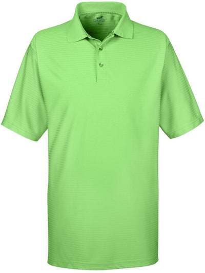 UltraClub Cool & Dry Elite Tonal Stripe Performance Polo