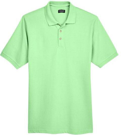 UltraClub-Classic Pique Polo Shirt-S-Apple-Thread Logic