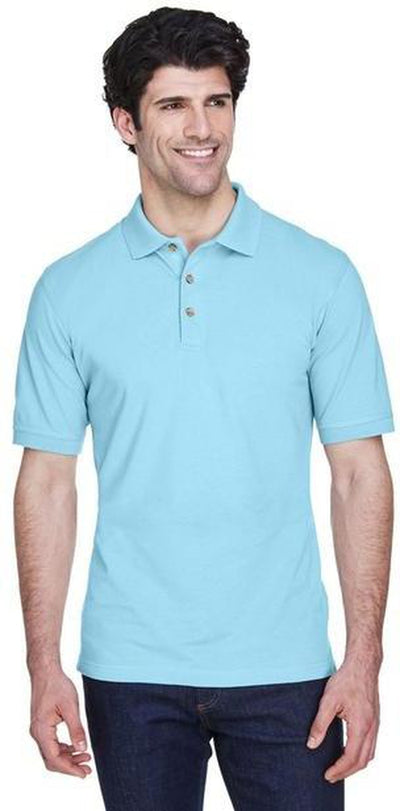 UltraClub-Classic Pique Polo Shirt-Thread Logic no-logo