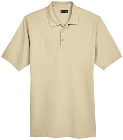 UltraClub-Classic Pique Polo Shirt-S-Putty-Thread Logic