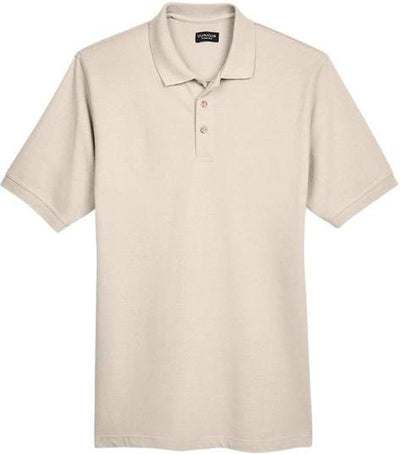 UltraClub-Classic Pique Polo Shirt-S-Stone-Thread Logic