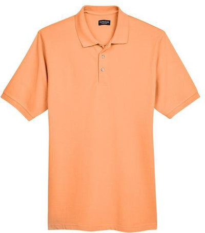 UltraClub-Classic Pique Polo Shirt-S-Tangerine-Thread Logic