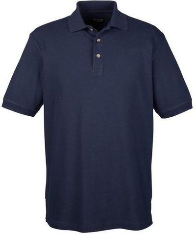 UltraClub-Tall Classic Polo Shirt-XLT-Navy-Thread Logic