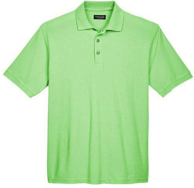 UltraClub-Whisper Pique Polo Shirt-S-Apple-Thread Logic