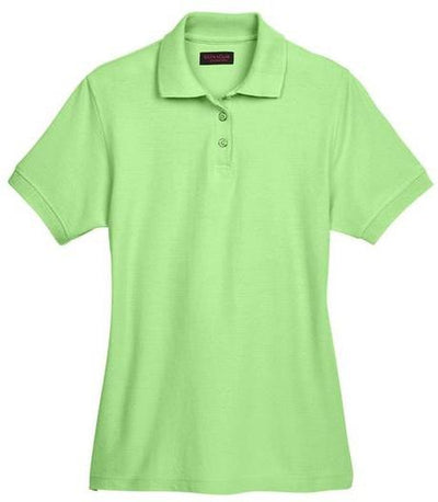 UltraClub-Ladies Whisper Pique Polo-XS-Apple-Thread Logic