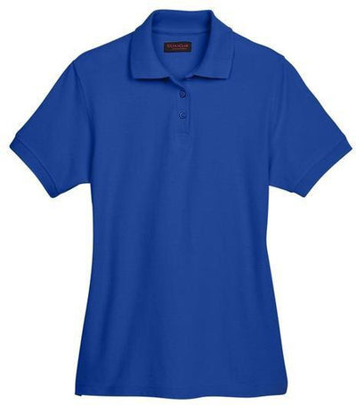UltraClub-Ladies Whisper Pique Polo-XS-Royal-Thread Logic