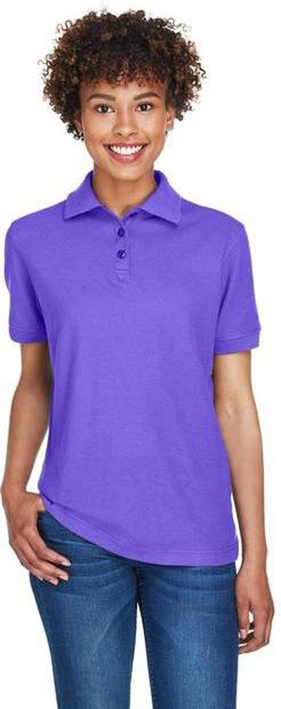 UltraClub-Ladies Whisper Pique Polo-Thread Logic no-logo