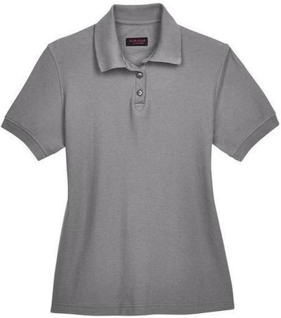 UltraClub-Ladies Whisper Pique Polo-XS-Graphite-Thread Logic