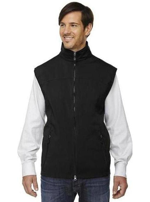 North End-Soft Shell Performance Vest-S-Black-Thread Logic