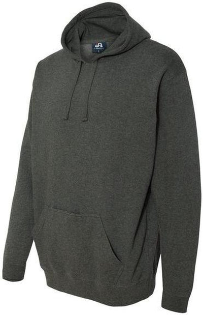 J-America-Tailgate Hooded Pullover with Bottle Opener-S-Charcoal Heather-Thread Logic