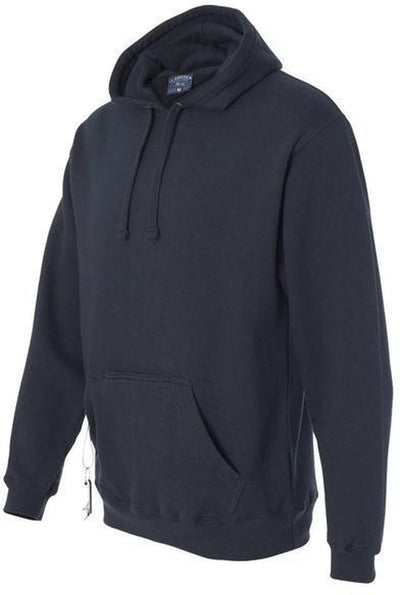 J-America-Tailgate Hooded Pullover with Bottle Opener-S-Navy-Thread Logic