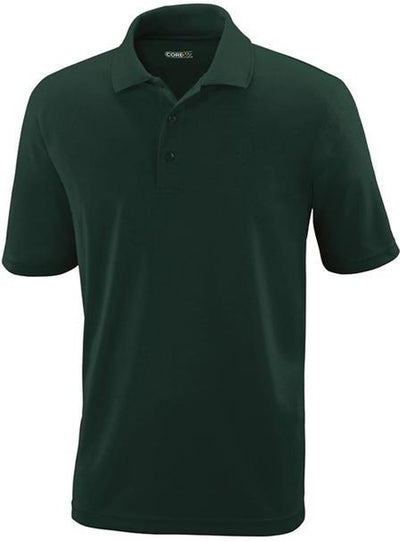 CORE365-Performance Pique Polo Shirt-S-Forest Green-Thread Logic