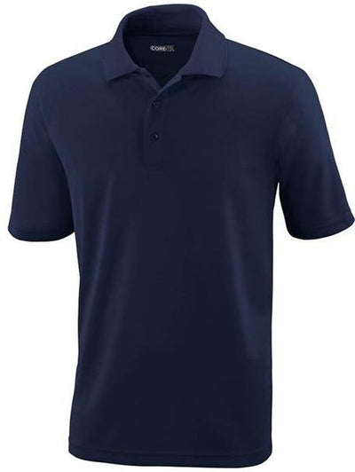 CORE365-Tall Performance Pique Polo Shirt-LT-Navy-Thread Logic