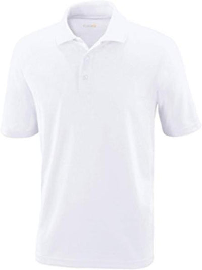 CORE365-Tall Performance Pique Polo Shirt-LT-White-Thread Logic