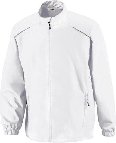 CORE365-Unlined Lightweight Jacket-S-White-Thread Logic