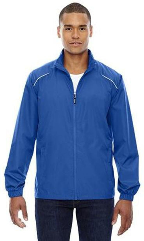 CORE365-Tall Unlined Lightweight Jacket-LT-True Royal-Thread Logic