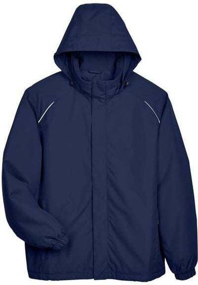 CORE365-Brisk Insulated Jacket-S-Classic Navy-Thread Logic