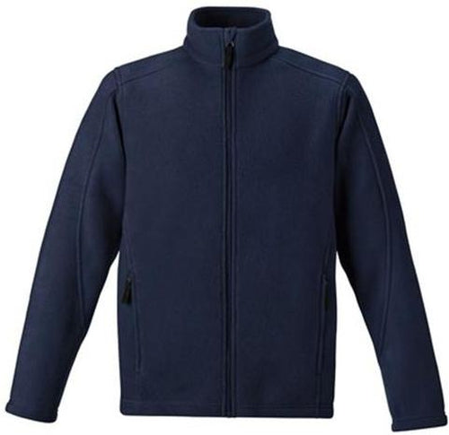 CORE365-Tall Fleece Jacket-LT-Black-Thread Logic