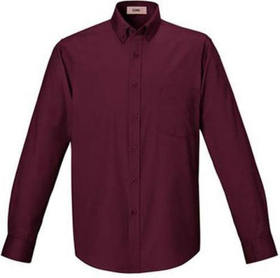 CORE365-Easy Care Shirt-S-Burgundy-Thread Logic