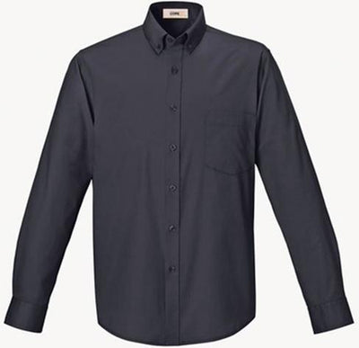 CORE365-Easy Care Shirt-S-Carbon-Thread Logic