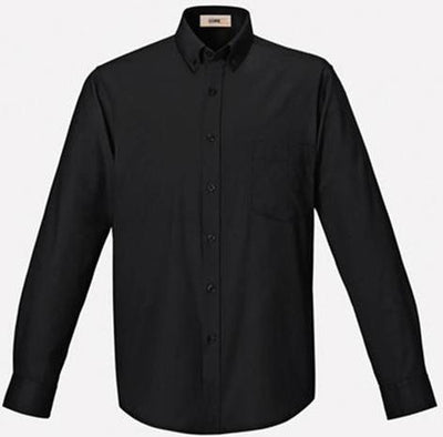 CORE365-Easy Care Shirt-S-Black-Thread Logic