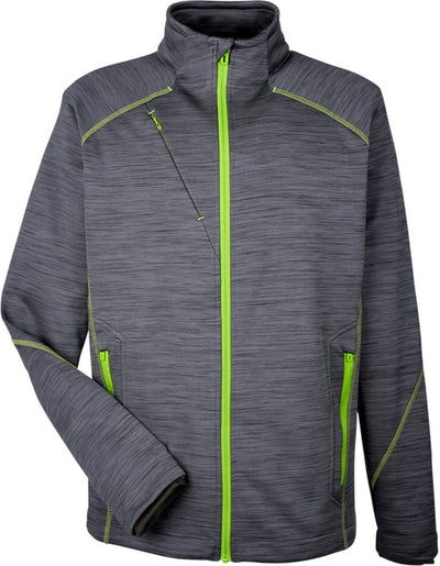 North End Flux Mélange Bonded Fleece Jacket