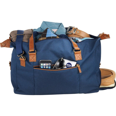 "Elevate-The Capitol 20"" Duffel Bag-Navy-Thread Logic"