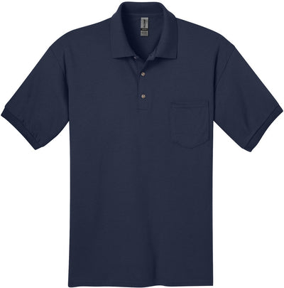 Gildan-DryBlend Jersey Polo with Pocket-S-Navy-Thread Logic