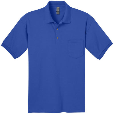 Gildan-DryBlend Jersey Polo with Pocket-S-Royal-Thread Logic