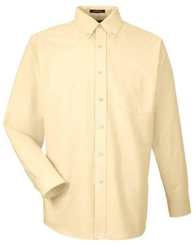 UltraClub-Classic Wrinkle Free Oxford-S-Butter-Thread Logic