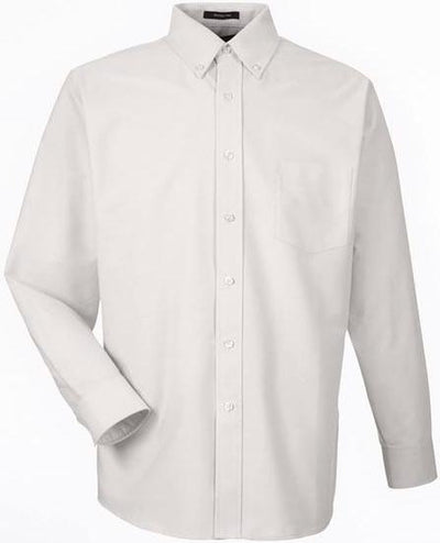 UltraClub-Classic Wrinkle Free Oxford-S-Tan-Thread Logic