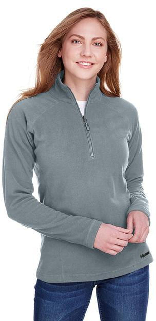 Marmot Ladies Rocklin Fleece Half-Zip-S-Steel Onyx-Thread Logic
