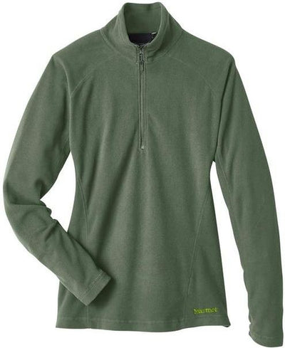 Marmot Ladies Rocklin Fleece Half-Zip-S-Crocodile-Thread Logic