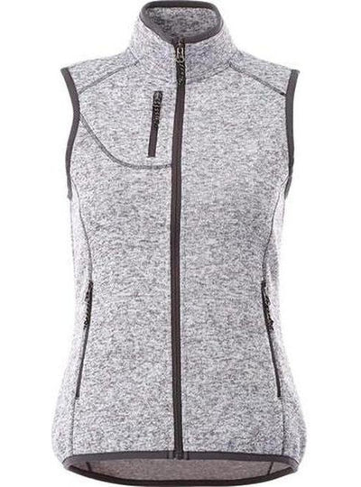 Elevate-Ladies FONTAINE Knit Vest-XS-Light Heather Grey-Thread Logic