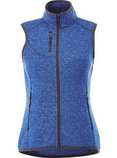 Elevate-Ladies FONTAINE Knit Vest-XS-Metro Blue Heather-Thread Logic