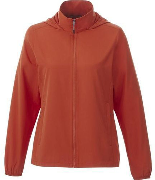 Elevate-TOBA Ladies Packable Jacket-S-Saffron-Thread Logic