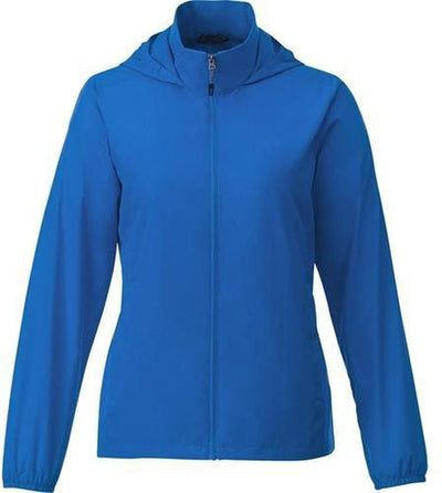 Elevate-TOBA Ladies Packable Jacket-S-Olympic Blue-Thread Logic