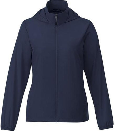 Elevate-TOBA Ladies Packable Jacket-S-Vintage Navy-Thread Logic