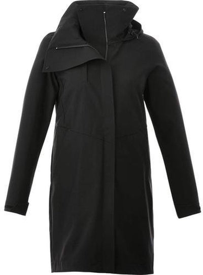 Elevate-Ladies MANHATTAN Softshell Jacket-XS-Black-Thread Logic
