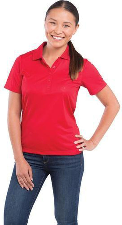 Elevate-Ladies DADE Short Sleeve Polo-Thread Logic no-logo