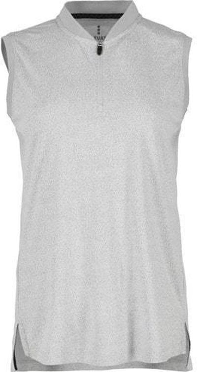 Elevate Ladies Kinport Stand Collar Sleeveless Polo