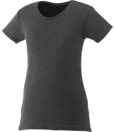 Elevate-Ladies BODIE Short Sleeve Tee-XS-Heather Dark Charcoal-Thread Logic