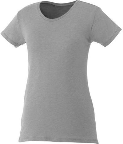 Elevate-Ladies BODIE Short Sleeve Tee-XS-Heather Grey-Thread Logic
