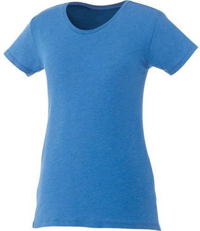 Elevate-Ladies BODIE Short Sleeve Tee-XS-New Royal Heather-Thread Logic
