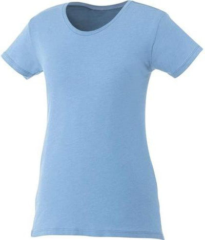 Elevate-Ladies BODIE Short Sleeve Tee-XS-Sky Heather-Thread Logic