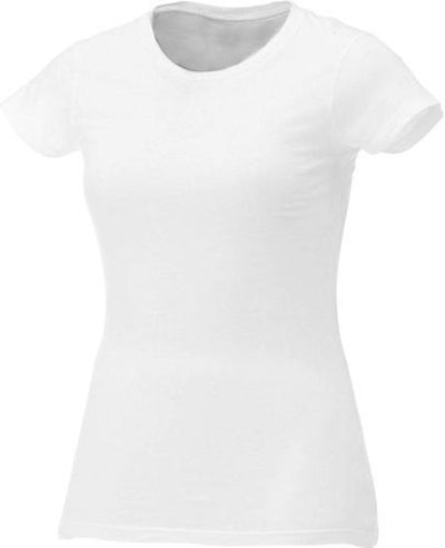 Elevate-Ladies BODIE Short Sleeve Tee-XS-White-Thread Logic