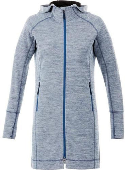 Elevate-Ladies Odell Knit Zip Hoody-XS-Invictus Heather-Thread Logic